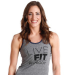 Julie Lohre\'s Live Fit - FITBODY Tees