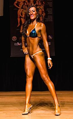 Monica Murie NPC Bikini Front Pose