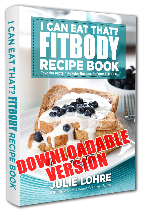 I can eat that?  Protein Powder recipe book