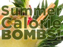 Summer Cocktail Calorie Bombs