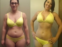 Nicole lost 23 lbs and 15 inches in 6 months!