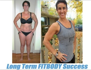 Life long weight loss success