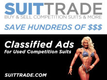 New Classified Ad Site for Used Competition Suits – SuitTrade.com