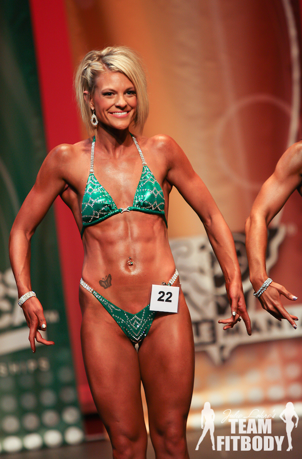 Kristen McSorley Figure Competitor Stage