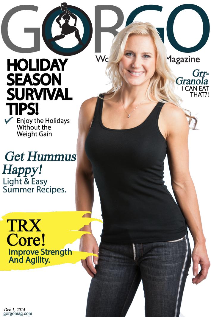 Julie Lohre Cover Gorgo Women's Fitness Magazine