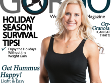 Julie Lohre featured on Cover of GORGO Women's Fitness Magazine!