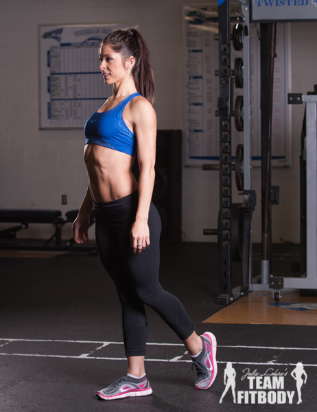 Standing Leg Lift with Glute SqueezeStanding Leg Lift with Glute Squeeze