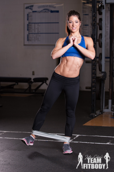 Standing Side Leg Lift and Squat