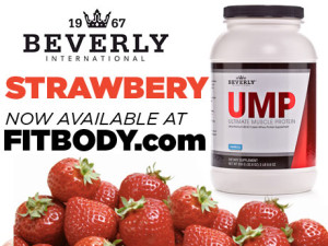 Strawberry Ultimate Muscle Protein Now Available December 14