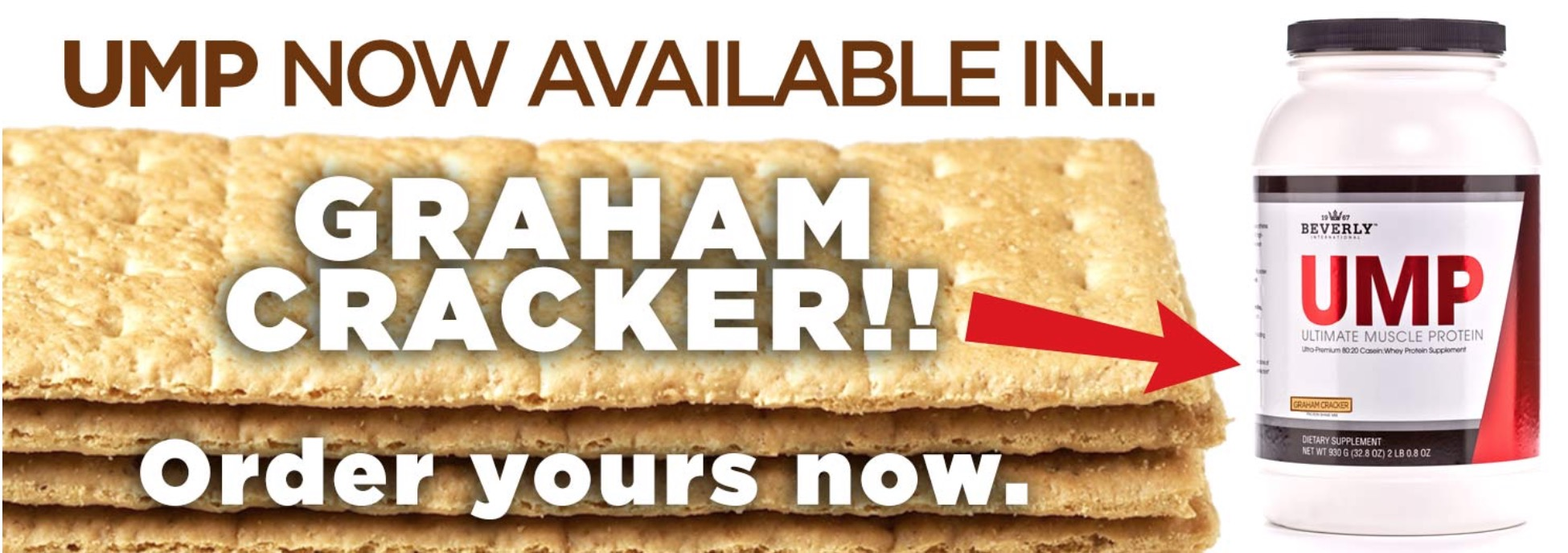 Graham Cracker Ultimate Muscle Protein Beverly International