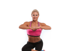 Figure Four with Lift Off and Side Single Leg Squat