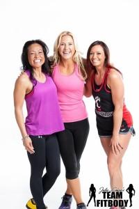 Julie Lohre with Clients