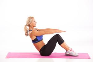 Ab Workout Boat Pose Julie Lohre