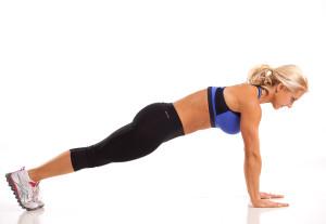 Ab Workout Plank Julie Lohre