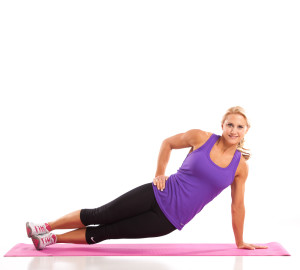 Ab Workout Side Plank Pulses