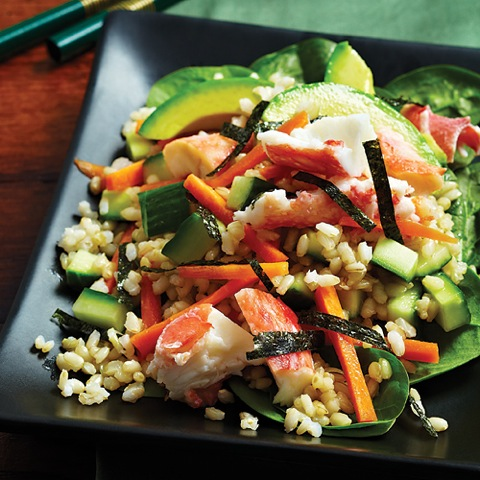 Sushi Salad Clean Eating Mag
