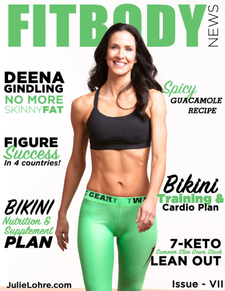 Julie Lohre - FITBODY News Online Fitness Magazine for Women