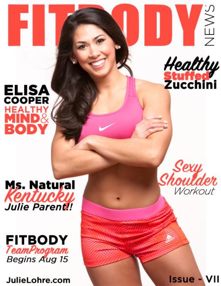 Julie Lohre - FITBODY News Online Fitness Magazine for Women