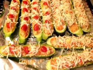 Healthy Stuffed Zucchini