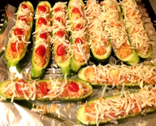 Healthy Stuffed Zucchini