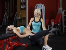 Glute Pulses with Bench