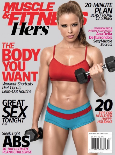 Muscle & Fitness Hers Workout Dec 2015