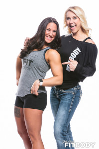 Julie Lohre and Misty Vaccariello