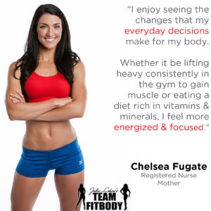 Chelsea Fugate My Fitness Why