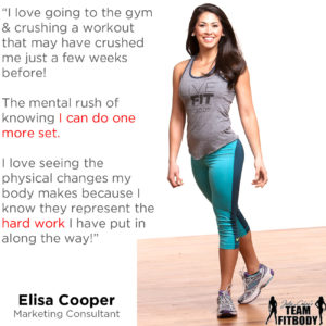 Elisa Cooper My Fitness Why