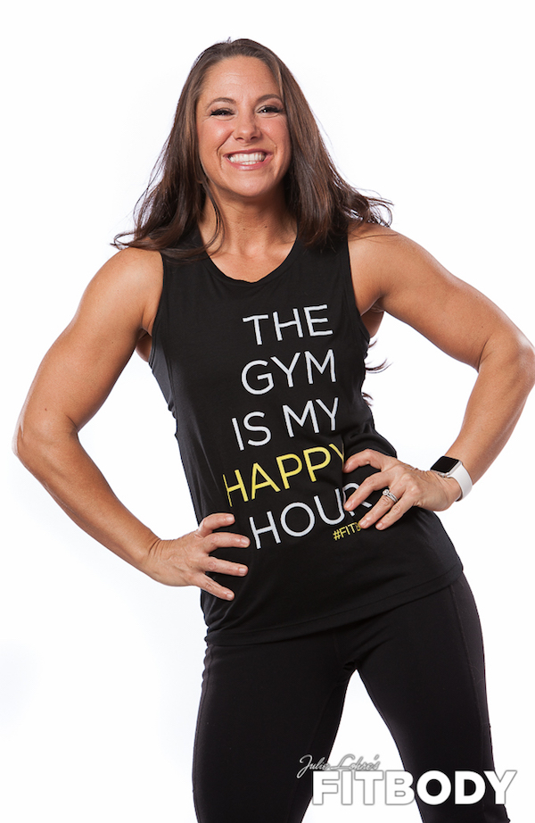 Gym is my happy hour workout shirt