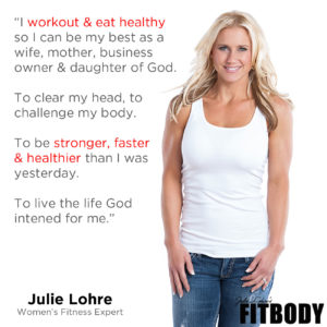 Julie Lohre My Fitness Why