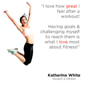 Katherine White My Fitness Why