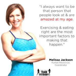 Melissa Jackson My Fitness Why