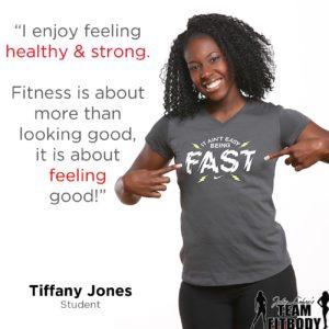 Tiffany Jones My Fitness Why