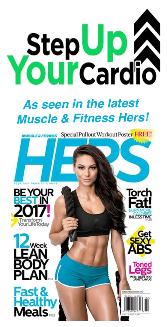 Stepper Cardio Workout Muscle & Fitness Hers