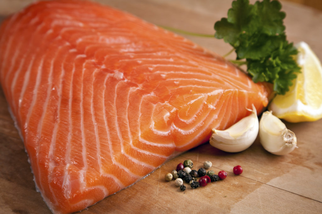 Best foods for building muscle salmon