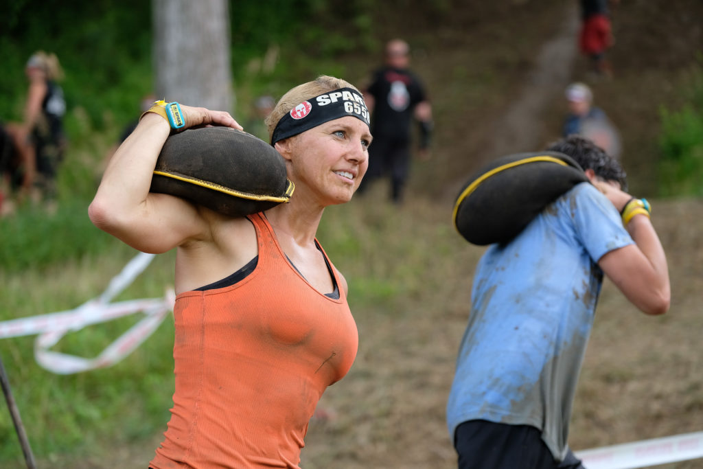 Julie Lohre OCR Sand Bag Carry