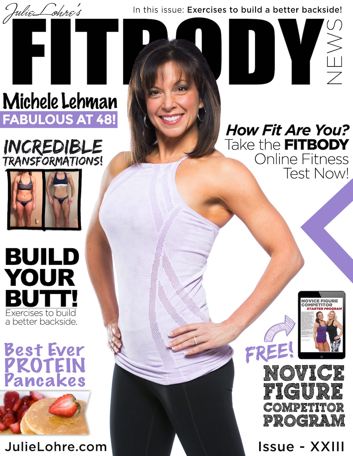 Julie Lohre's Fitbody News Magazine for Women